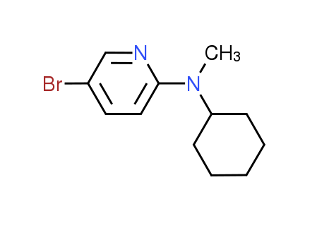 N-(5-Bromo-2-pyridinyl)-N-cyclohexyl-N-methylamine