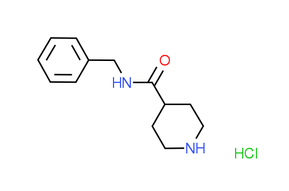 N-Benzyl-4-piperidinecarboxamide hydrochloride