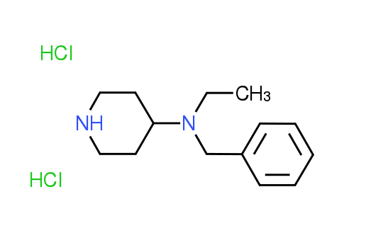N-Benzyl-N-ethyl-4-piperidinamine dihydrochloride