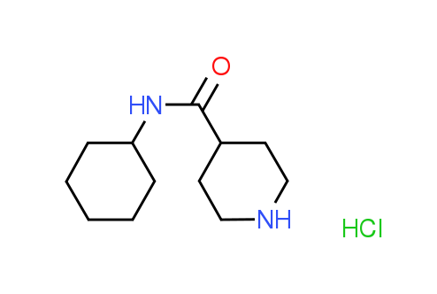 N-Cyclohexyl-4-piperidinecarboxamide hydrochloride