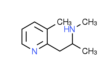 N-Methyl-1-(3-methylpyridin-2-yl)propan-2-amine