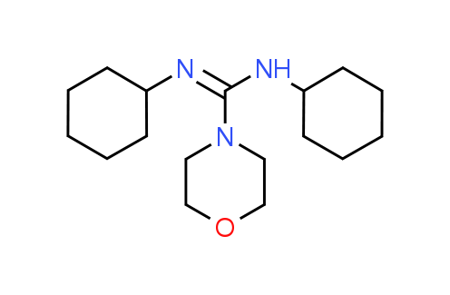 N,N'-Dicyclohexylmorpholine-4-carboximidamide