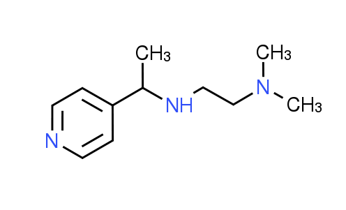 N,N-Dimethyl-N'-(1-pyridin-4-ylethyl)ethane-1,2-diamine