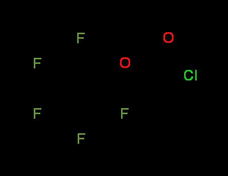 (Pentafluorophenoxy)acetyl chloride