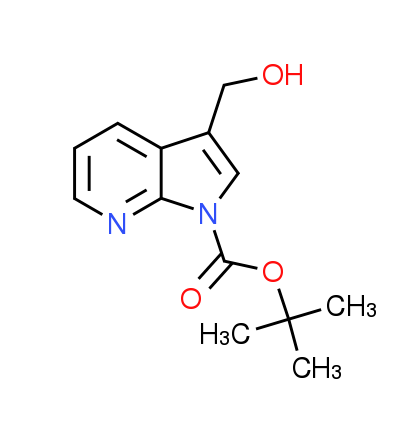 tert-Butyl 3-(hydroxymethyl)-1H-pyrrolo[2,3-b]-pyridine-1-carboxylate