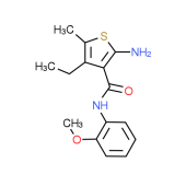 2-Amino-4-ethyl-N-(2-methoxyphenyl)-5-methylthiophene-3-carboxamide