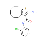 2-Amino-N-(2-chlorophenyl)-4,5,6,7,8,9-hexahydrocycloocta[b]thiophene-3-carboxamide
