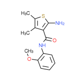2-Amino-N-(2-methoxyphenyl)-4,5-dimethylthiophene-3-carboxamide