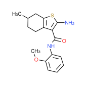 2-Amino-N-(2-methoxyphenyl)-6-methyl-4,5,6,7-tetrahydro-1-benzothiophene-3-carboxamide