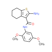 2-Amino-N-(2,5-dimethoxyphenyl)-4,5,6,7-tetrahydro-1-benzothiophene-3-carboxamide