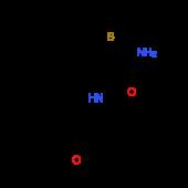 2-Amino-N-(3-methoxyphenyl)-4,5,6,7,8,9-hexahydrocycloocta[b]thiophene-3-carboxamide