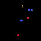 2-Amino-N-(3-methoxyphenyl)-5,6-dihydro-4H-cyclopenta[b]thiophene-3-carboxamide