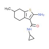 2-Amino-N-cyclopropyl-6-methyl-4,5,6,7-tetrahydro-1-benzothiophene-3-carboxamide