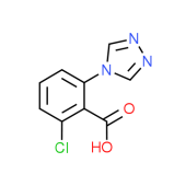 2-Chloro-6-(4H-1,2,4-triazol-4-yl)benzoic acid