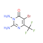 2,3-Diamino-5-bromo-6-(trifluoromethyl)-4(3H)-pyrimidinone