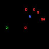 (2S,4S)-1-(tert-Butoxycarbonyl)-4-[2-(sec-butyl)-4^-chlorophenoxy]-2-pyrrolidinecarboxylic acid