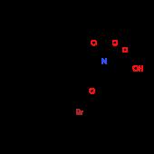 (2S,4S)-4-[2-Bromo-4-(1-methyl-1-phenylethyl)pheno^xy]-1-(tert-butoxycarbonyl)-2-pyrrolidinecarboxyl