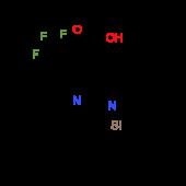 5-(Trifluoromethyl)-1-(triisopropylsilyl)-1H-pyrrolo[2,3-b]pyridine-4-carboxylic acid