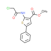 Methyl 2-[(chloroacetyl)amino]-5-phenylthiophene-3-carboxylate