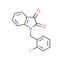 1-(2-Fluorobenzyl)-1H-indole-2,3-dione