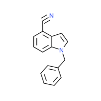 1-Benzyl-1H-indole-4-carbonitrile