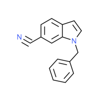 1-Benzyl-1H-indole-6-carbonitrile