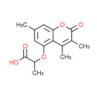 2-[(3,4,7-Trimethyl-2-oxo-2H-chromen-5-yl)oxy]-propanoic acid