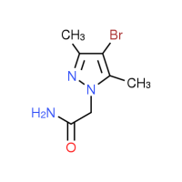 2-(4-Bromo-3,5-dimethyl-1H-pyrazol-1-yl)acetamide