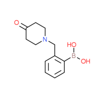{2-[(4-Oxopiperidin-1-yl)methyl]phenyl}-boronic acid