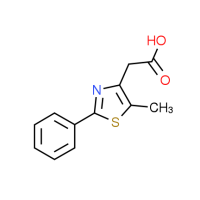2-(5-Methyl-2-phenyl-1,3-thiazol-4-yl)acetic acid