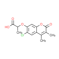 2-[(6-Chloro-3,4-dimethyl-2-oxo-2H-chromen-7-yl)-oxy]propanoic acid