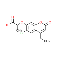 2-[(6-Chloro-4-ethyl-2-oxo-2H-chromen-7-yl)oxy]-propanoic acid
