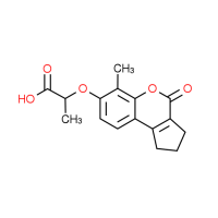 2-[(6-Methyl-4-oxo-1,2,3,4-tetrahydrocyclopenta-[c]chromen-7-yl)oxy]propanoic acid