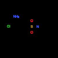 2-Chloro-5-[3,4-dihydro-1(2H)-quinolinylsulfonyl]-aniline