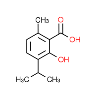 2-Hydroxy-3-isopropyl-6-methylbenzoic acid