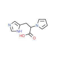 3-(1H-Imidazol-5-yl)-2-(1H-pyrrol-1-yl)-propanoic acid