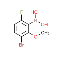 3-Bromo-6-fluoro-2-methoxyphenylboronic acid