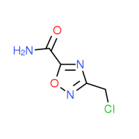3-(Chloromethyl)-1,2,4-oxadiazole-5-carboxamide