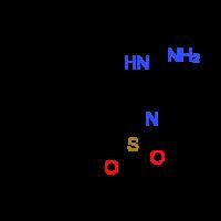 3-Hydrazino-1,2-benzisothiazole 1,1-dioxide