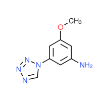 3-Methoxy-5-(1H-tetrazol-1-yl)aniline