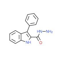 3-Phenyl-1H-indole-2-carbohydrazide