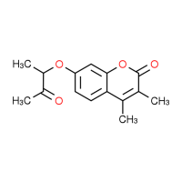 3,4-Dimethyl-7-(1-methyl-2-oxopropoxy)-2H-chromen-2-one