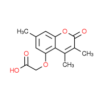 [(3,4,7-Trimethyl-2-oxo-2H-chromen-5-yl)oxy]-acetic acid