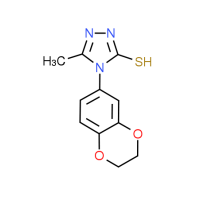 4-(2,3-Dihydro-1,4-benzodioxin-6-yl)-5-methyl-4H-1,2,4-triazole-3-thiol