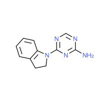 4-(2,3-Dihydro-1H-indol-1-yl)-1,3,5-triazin-2-amine