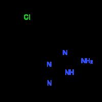 4-(4-Chlorophenyl)-1,4-dihydro[1,3,5]triazino-[1,2-a]benzimidazol-2-amine