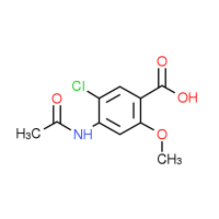 4-(Acetylamino)-5-chloro-2-methoxybenzoic acid