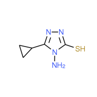 4-Amino-5-cyclopropyl-4H-1,2,4-triazole-3-thiol