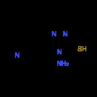 4-Amino-5-pyridin-4-yl-4H-1,2,4-triazole-3-thiol