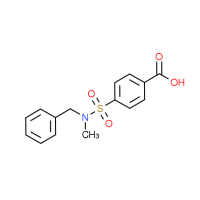 4-{[Benzyl(methyl)amino]sulfonyl}benzoic acid